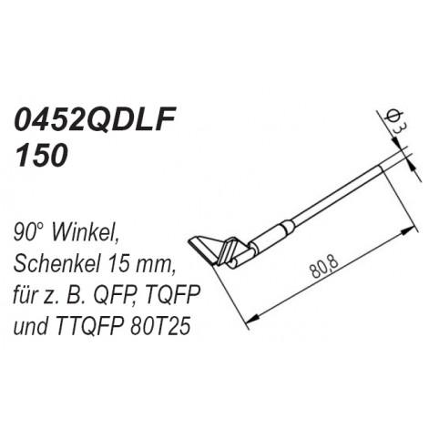 ERSA Entlötspitzen-Satz Schenkel im 90° Winkel 15,0 mm für Chip-Tool