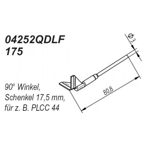 ERSA Entlötspitzen-Satz Schenkel im 90° Winkel 17,5 mm für Chip-Tool