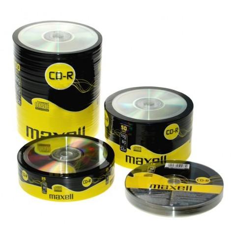 MAXELL CD-R 80 52x speed 700MB 10er Spindel