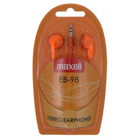 MAXELL Kopfhörer EB-98 orange 3,5mm Klinke Smartphone