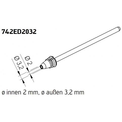 ERSA Entlötspitze für X-Tool Vario innen 2,0 mm außen 3,2 mm