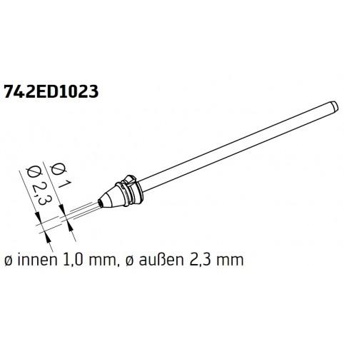 ERSA Entlötspitze für X-Tool Vario innen 1,0 mm außen 2,3 mm