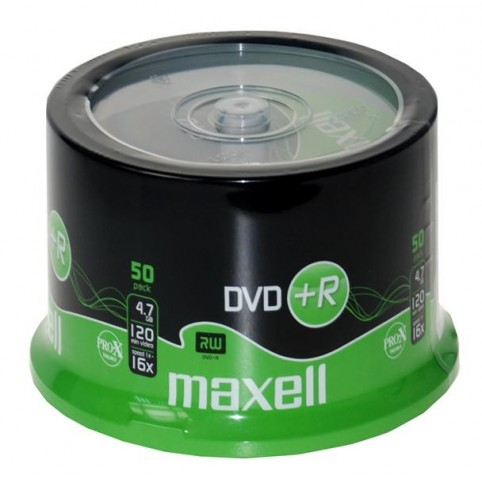MAXELL DVD+R 4.7GB 16x speed 50er Spindel