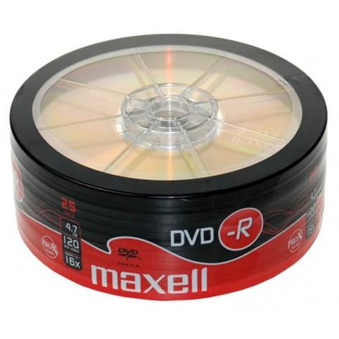 MAXELL DVD-R 4.7GB 16x speed 25er Bulk/shrink