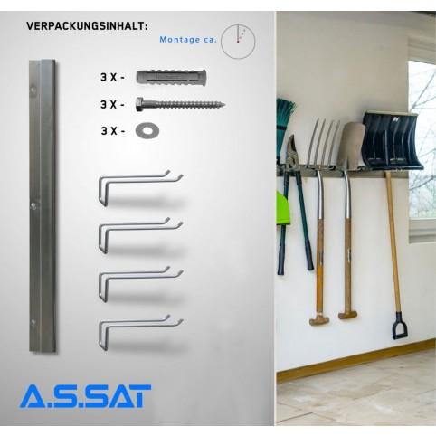 A.S.SAT Aufbewahrungssystem für Gartenkleingeräte