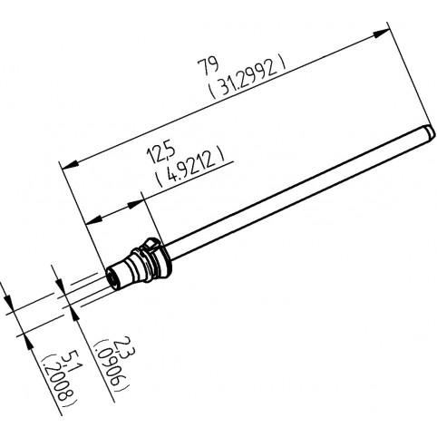 ERSA Entlötspitze für X-Tool Vario Durchmesser innen 2,3 mm außen 5,1 mm hochverzinnt