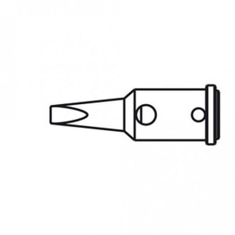 ERSA Lötspitze für Independent 75 gerade vernickelt meißelförmig 2,4 mm