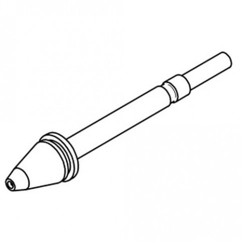 ERSA Entlötspitze für X- Tool innen 0,8 mm außen 2,3 mm vernickelt