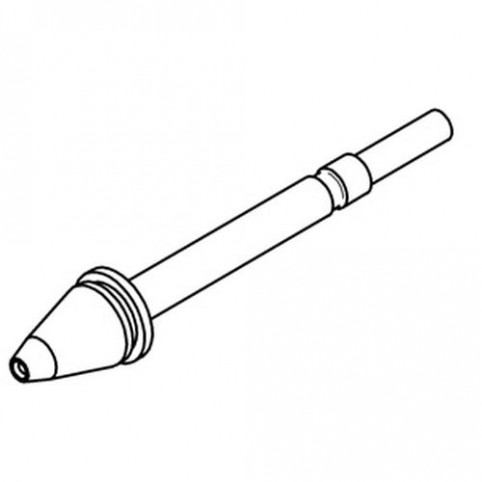 ERSA Entlötspitze für X- Tool innen 1,2 mm außen 2,3 mm vernickelt