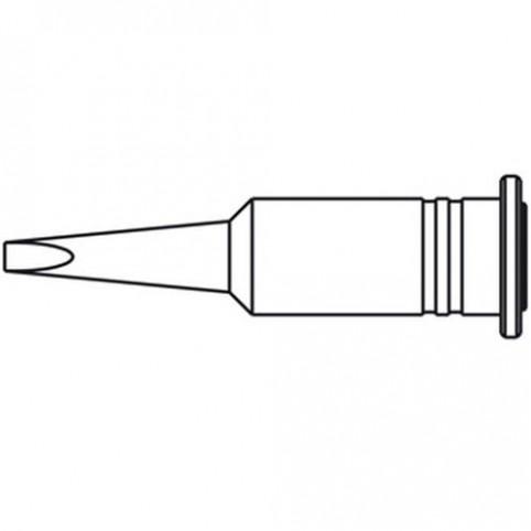 ERSA Lötspitze für Independent 130 gerade vernickelt meißelförmig 2,4 mm