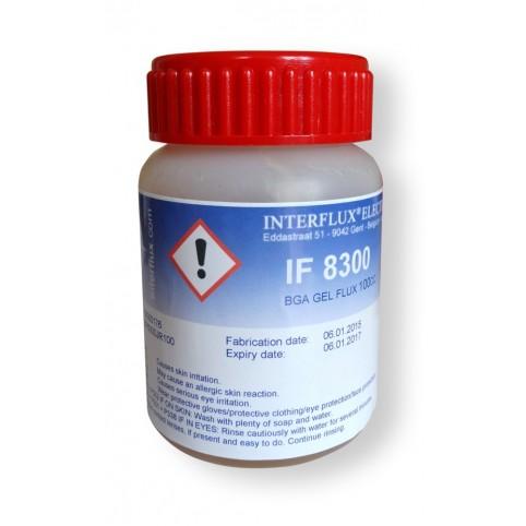 Interflux Flussmittelgel 8300 halogenfrei für Rework 100cc Dose