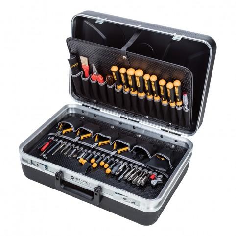 Bernstein Service-Koffer Performance PC-CONTACT mit 61 Werkzeugen
