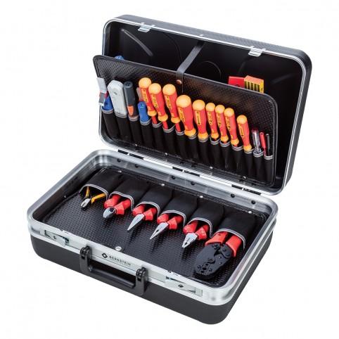 Bernstein Service-Koffer Performance SECURITY mit 52 Werkzeugen