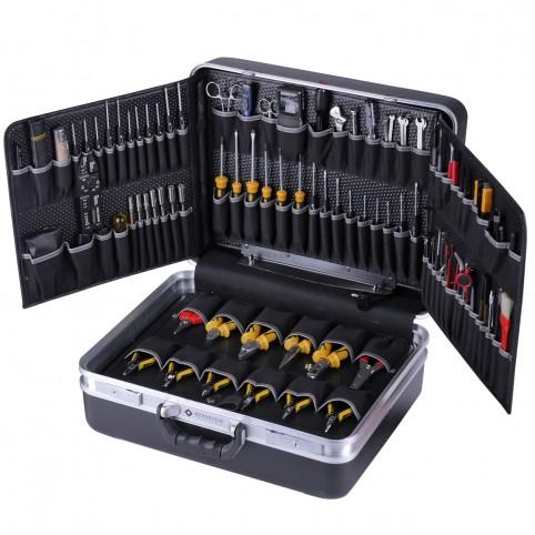 Bernstein Service-Koffer BOSS mit 110 Werkzeugen