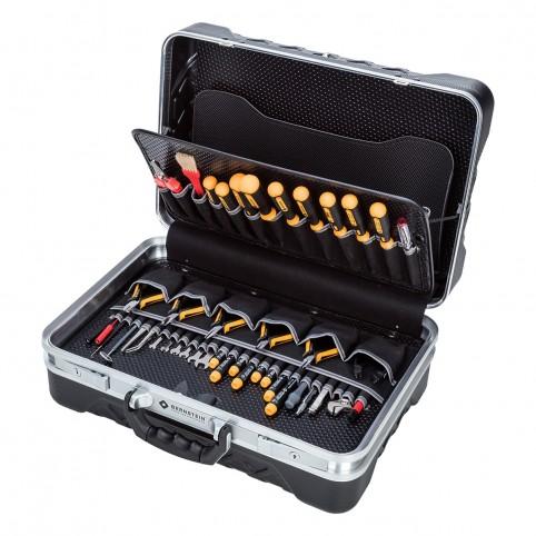 Bernstein Service-Koffer PC-CONTACT mit 65 Werkzeugen