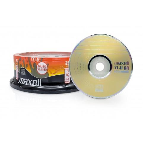 MAXELL CD-R 80 XL MU für Musik 52x speed 700MB 25er Spindel
