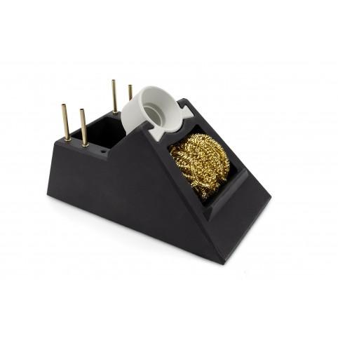 ERSA Ablageständer für i-Tool mit Trockenreiniger aus Metallwolle
