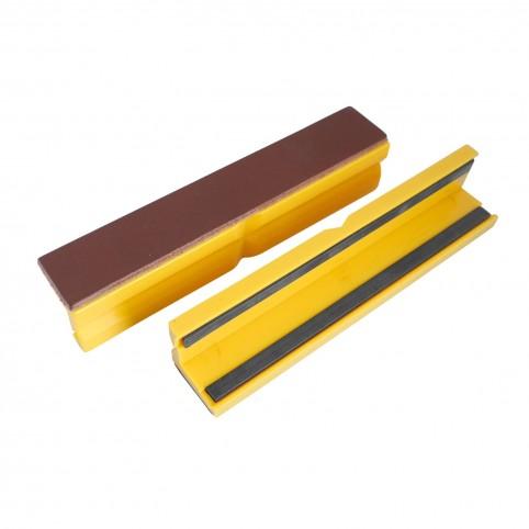 Bernstein Schonbacken Alu mit Magnet 150mm