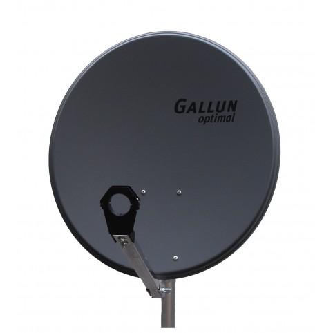 GALLUN 60cm ALU Satelitten Antenne Sat Spiegel anthrazit