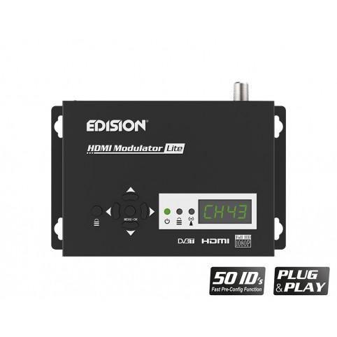 Edision HDMI Modulator lite single HDMI auf DVB-T PLUG & PLAY Full HD HDTV MPEG4