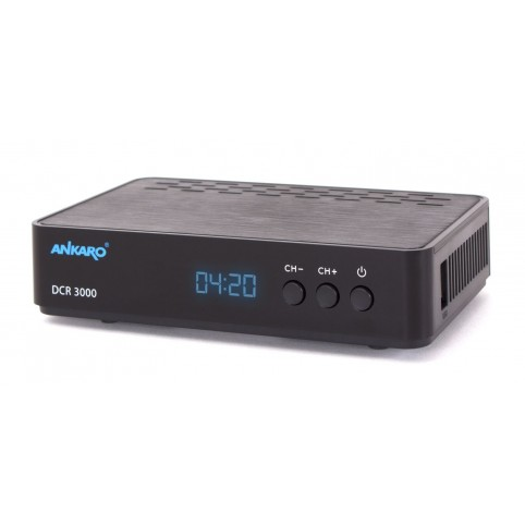 ANKARO Full HD Kabelreceiver mit PVR 1080p, MPEG-2/MPEG-4 SD/HD