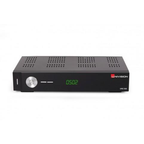 UNIVISION UNS500CI DVB-S2 Full HD-Receiver, 1080p