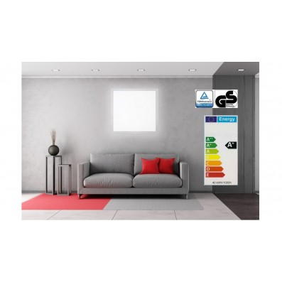 Zielo LED Premium Panel 40 Watt TÜV/GS 62 x 62 cm 4000 Kelvin