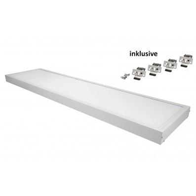 Zielo LED Premium Panel 40 Watt TÜV/GS 30 x 120 cm 4000 Kelvin inkl. Aufbaurahmen