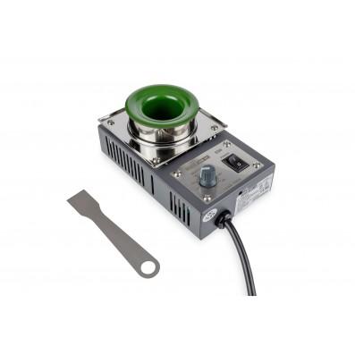 QUICK Löttiegel rund Ø36mm 40mm tief 150°-500°C 200W