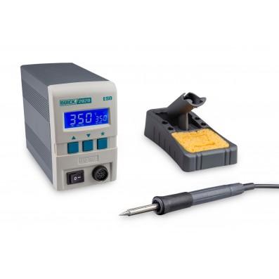 Quick digitale ESD Lötstation 90 Watt 230 Volt