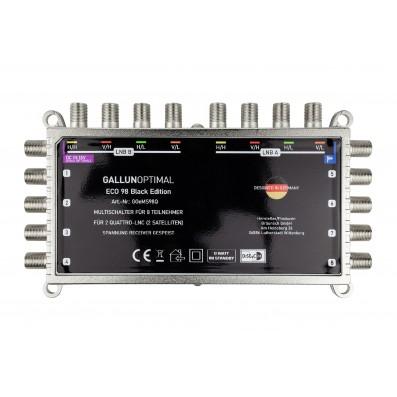 ECO Multischalter Black Edition 9/8