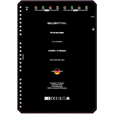 GALLUNOPTIMAL Profi Multischalter 9in / 24out