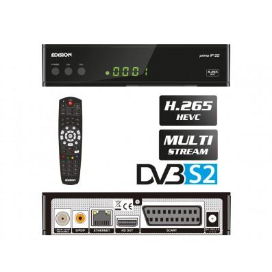 Edision primo IP S2 Full HD Linux SAT Multi Stream Receiver