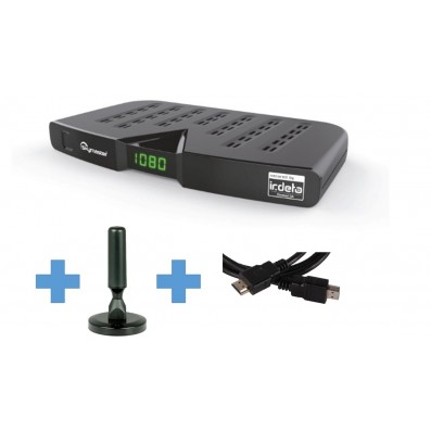 Skymaster DTR5000 DVB-T2 Freenet Receiver inkl Antenne und HDMI Kabel