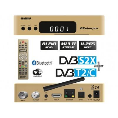 Edision OS NINO PRO Full HD Linux E2 Combo-Receiver