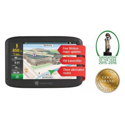 Navitel E500 Navigationsgerät mit Lifetime Europa Karten