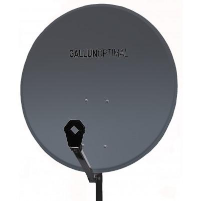 GALLUN 80cm ALU Satelitten Antenne Sat Spiegel anthrazit