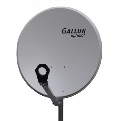 GALLUN 60cm ALU Satelitten Antenne Sat Spiegel hellgrau