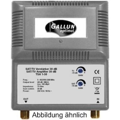 Gallun BK SAT Verstärker, Frequenzbereich 87-862 MHz
