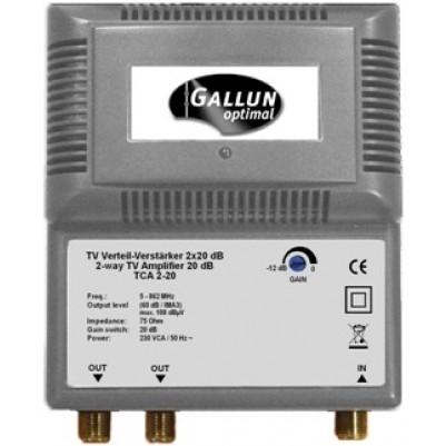 Gallun BK SAT Verteil-Verstärker Frequenzbereich 5-862 MHz