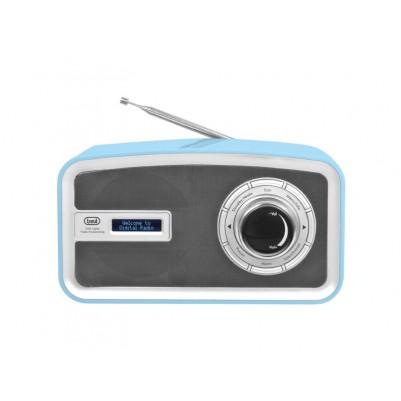 TREVI DAB792R DAB+ Radio blau, Empfang von DAB / DAB+ / UKW