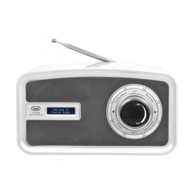TREVI DAB792R DAB+ Radio weiß, Empfang von DAB / DAB+ / UKW