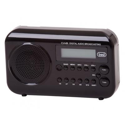 TREVI DAB790R DAB+ Radio schwarz, DAB / DAB+ / UKW