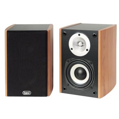 TREVI HOME SPEAKERS aktives Lautsprecherboxenpaar Farbe holz
