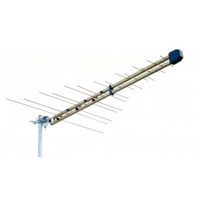 VHF/UHF uni-line 32 Elemente Antenne, Kanal 5-69