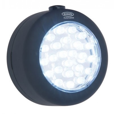 Ring Automotive 24 LED Round-Light 250 Lux Magnet Haken
