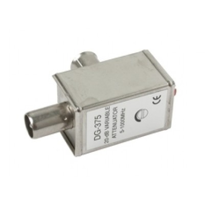 BK-Dämpfungssteller 0-20dB 0,15-852MHz, IEC-Conn