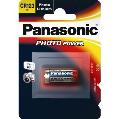 Panasonic CR123 Foto-Lithium 3V im 1er Blister