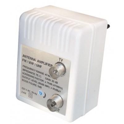 Steckdosenverstärker für TV und Rdf