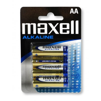MAXELL Alkaline LR6 AA Mignon 4er BLISTER